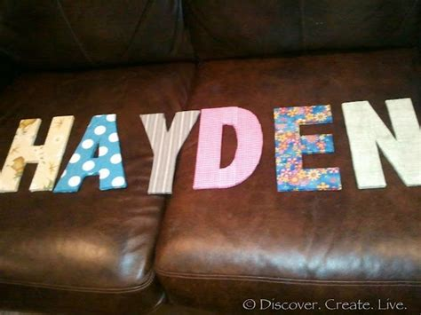 how to cover cardboard letters with fabric diy cardboard letters 2d layers of cardboard fabric