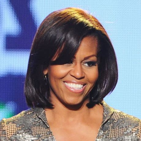 michelle obama straight human hair first lady wigs remy 8 inch hairstyles