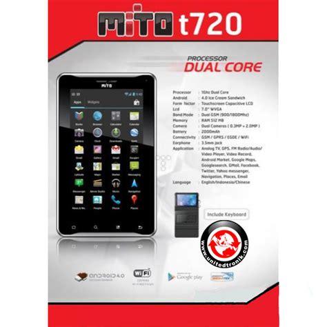 Spesifikasi Tablet Mito T720 mito t720 tablet android ics murah harga rp 1 jutaan