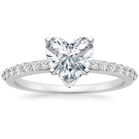 all about heart shaped engagement rings like lady gaga s