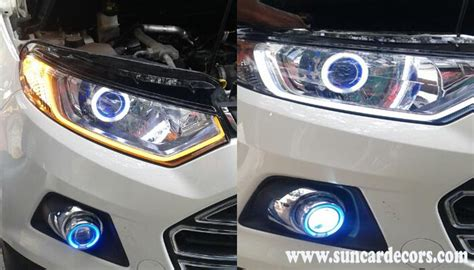 ecosport interior modified ford ecosport modified projector headlights car decors