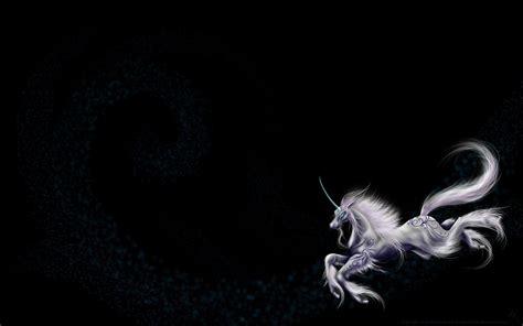 black unicorn hd wallpaper fantasy unicorn wallpapers wallpaper cave