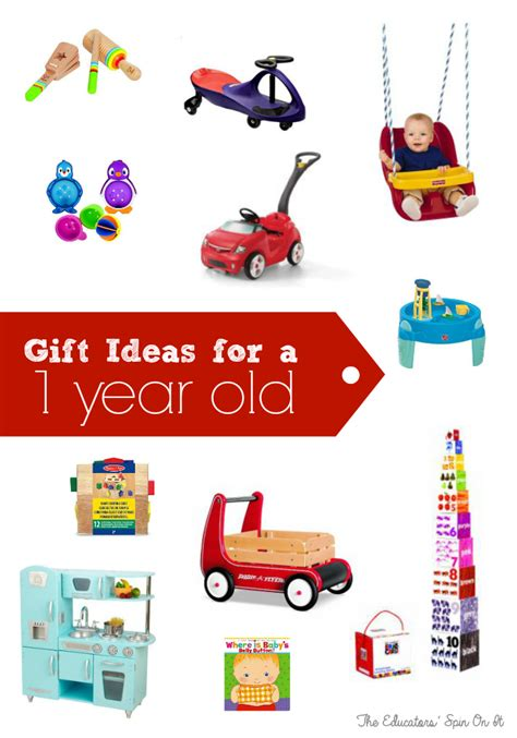 best 1 year old gifts homemade best birthday gifts for one year the educators spin on it