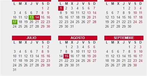 Calendario Laboral Valencia 2017 Calendario Laboral 2016 Archivos De Opcionis