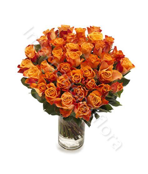 consegna di fiori a domicilio consegna fiori a domicilio bouquet di 50 arancio
