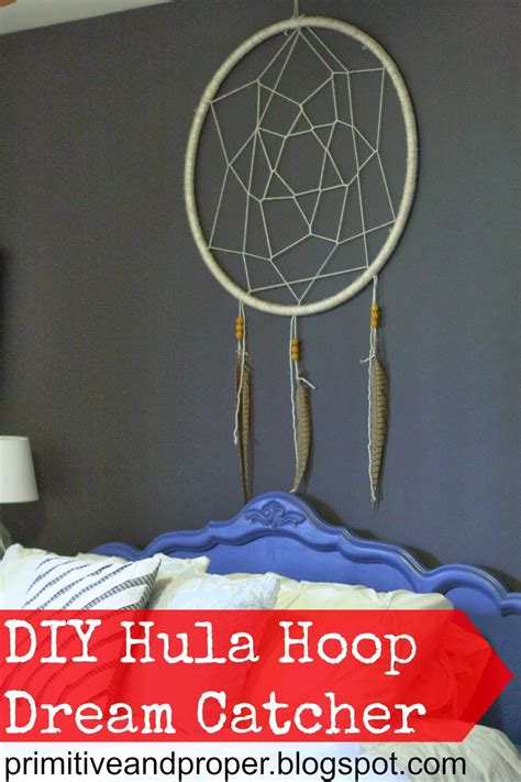 dreamcatcher hoop diy hula hoop dream catcher diy home decor pinterest