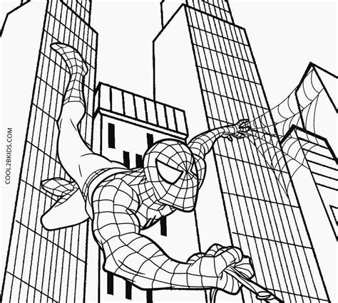 Galerry printable coloring pages spiderman 3