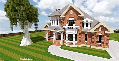 minecraft country house french country home minecraft house design