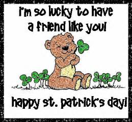 lucky to a friend like you happy st patricks day pictures photos and images for