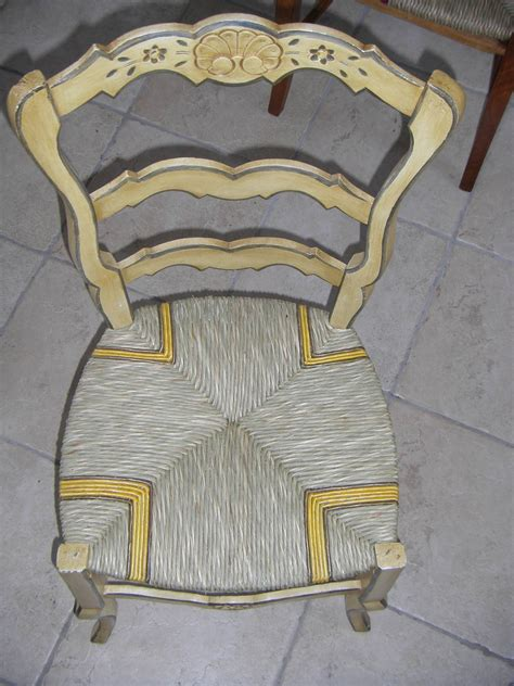 chaise paille chair restoration the straw shop