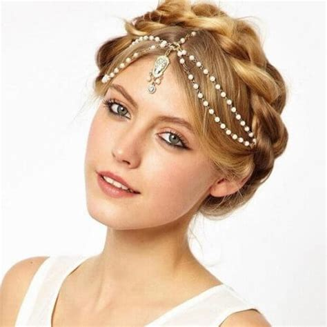 types of crown on head for hair styles 21 dazzling head chain hairstyles for you to look stunning