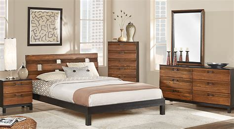 queen platform bedroom set gardenia honey 5 pc queen platform bedroom queen bedroom sets light wood