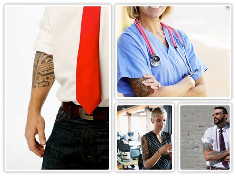 tattoos in the workplace tattoos in the workplace perceptions are changing the