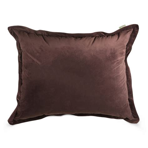 Floor Pillow Brown Faux Suede Oversized Floor Pillow Free Shipping