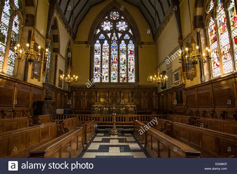 Oxford Interiors by Interior Of The Chapel Balliol College Oxford