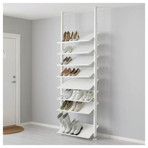 shelves for home shoes ikea elvarli shoe shelf white 80x36 cm ikea
