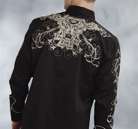 pattern western shirt roper women s twill w swirl pattern embroidery western shirt