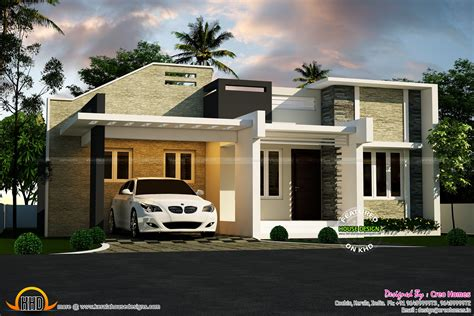 Single Floor Modern House Plans by 3 Beautiful Small House Plans Kerala Home Design And