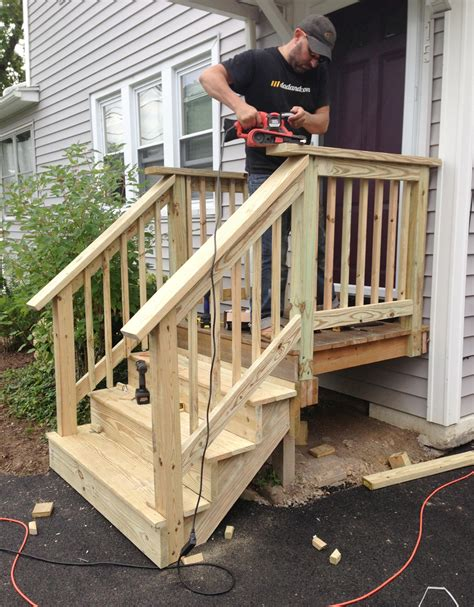 Wooden Front Stairs Design Ideas Front Steps Ideas On Front Steps Porch Steps And Front Porches