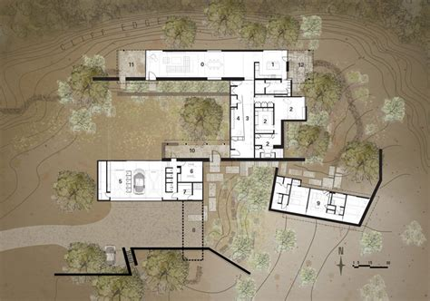 lake flato house plans lake flato architects desert house in santa fe