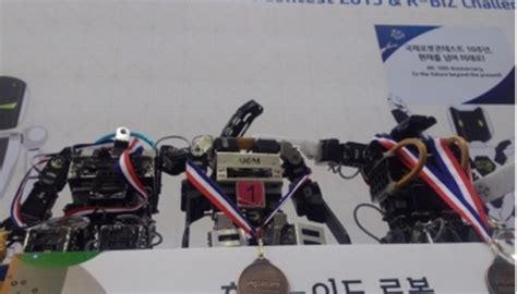 jurusan membuat robot kalahkan jepang robot karya ugm ini raih medali di korea