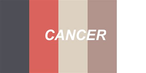 cancer colors zodiac 28 zodiac cancer color palette colors of the zodiac