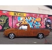 VW CADDY MK1 PICK UP RAT EURO DUB RUSTY FULL MOT 6 TAX G60