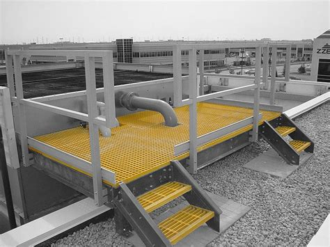 Fiberglass Handrail Grp Stairs Composite Structural Stairs Grp Stair Treads