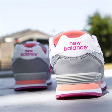 light pink new balance new balance big kids 574 state fair kl574bzg gray light