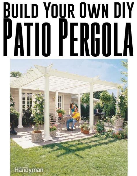 build your own backyard build your own backyard diy pergola