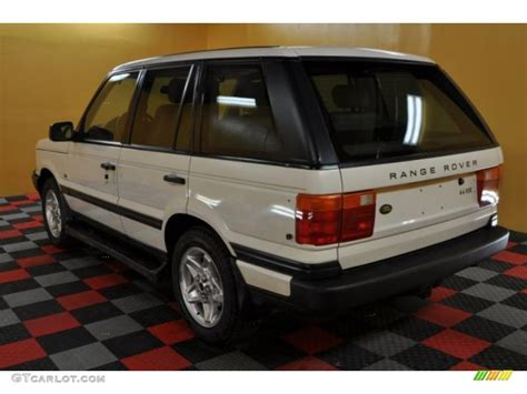 white and gold range rover 1997 white gold land rover range rover hse 47767416 photo