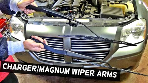 windshield wiper repair on 1983 dodge truck youtube dodge charger windshield wiper arms removal replacement dodge magnum youtube