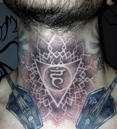 tattoo neck geometric neck dotwork geometric tattoo by rainfire tattoo