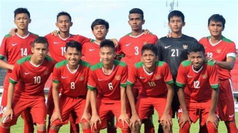 indonesia vs korea selatan 2018 jadwal timnas u 19 indonesia vs korea selatan kualifikasi