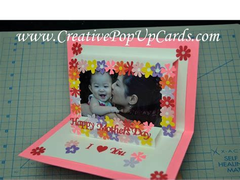 Paw Patrol Pop Up Card Template by Simple S Day Photo Frame Tutorial