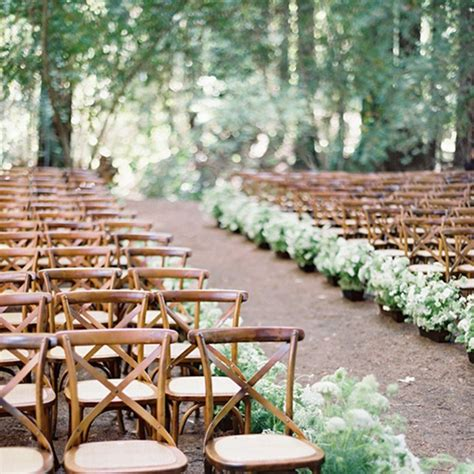 Wedding Aisle Arrangements by Wedding Ceremony Aisle Arrangements Potted Plants Brides