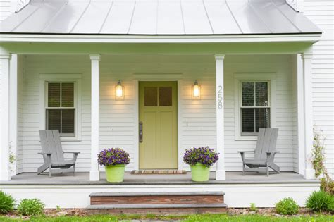 modern farmhouse porch fabulous prefab farmhouse porch boston by mary