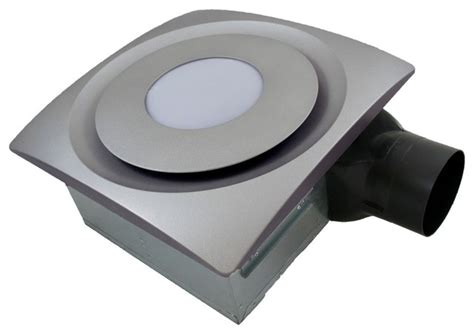 Modern Bathroom Exhaust Fan Light Aero Slim Fit Bathroom Fan With Led Light