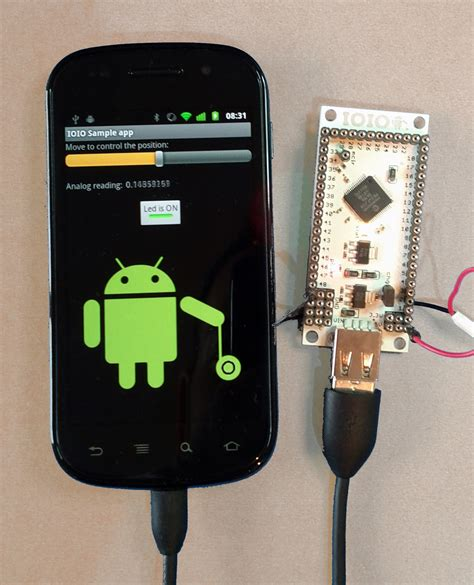 Android Usb Effect ioio for android detailed project sles from usb