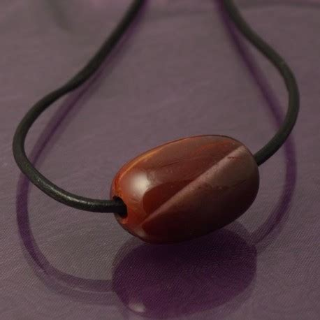 Mens Handmade Necklaces - handmade mens mookaite and leather necklace maxshock