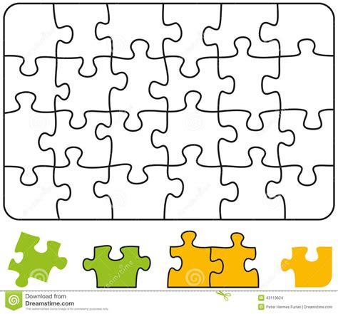 Vorlage Quiz Word Rect 225 Ngulo Rompecabezas Stock De Ilustraci 243 N Imagen 43113624