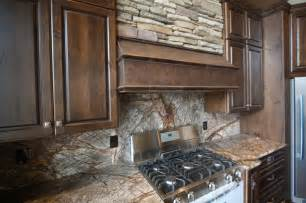 Houzz Kitchens Backsplashes forest web mahogany marble backsplash rustic kitchen