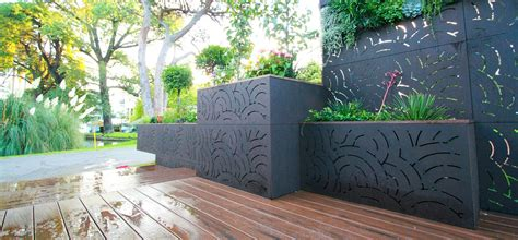 decorative outdoor screens decorative outdoor environments core landscape privacy