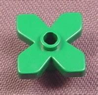 Lego Part 2423 242328 Green Plant Leaves 4 X 3 lego 4727 green 4 leaf flower disney fabuland belville rons rescued treasures