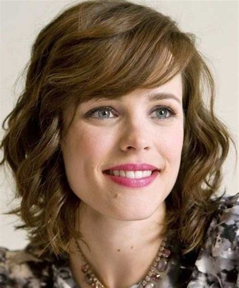 medium haircut with bangs short medium curly hairstyles short hairstyles 2017