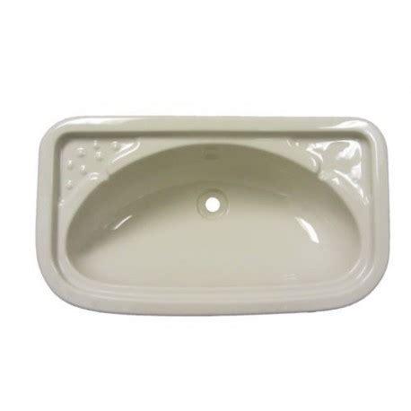 ivory bathroom basin bathroom sink rectangular ivory caravan stuff 4 u