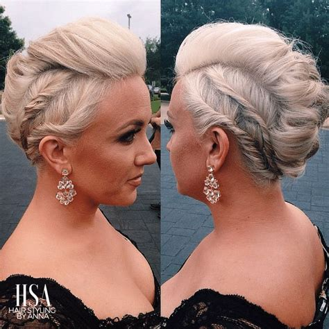25 best ideas about edgy updo on edgy hair styles braids and faux undercut