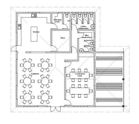 cafeteria layout dwg 2d cad hostel cafteria layout cadblocksfree cad blocks free