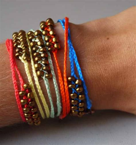 diy braided bead bracelet diy neon braided bead bracelets pumps iron
