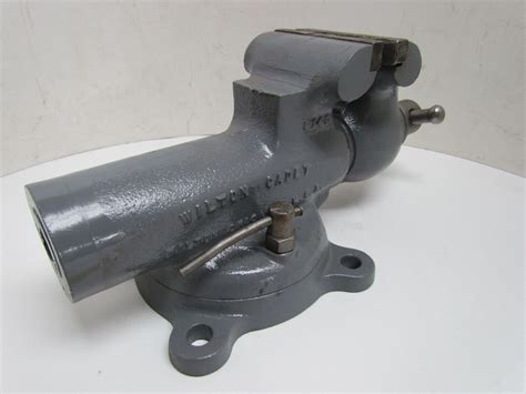 4 bench vise wilton cadet 4 quot bench vise w swivel base 5 quot opening usa ebay